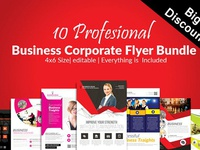 10 Business Flyers Bundle Vol:06