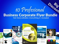 10 Multi Use Business Flyer Bundle