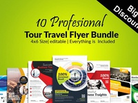 10 Multiuse Business Flyer Bundle
