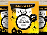 Free Halloween Psd Flyer Templates