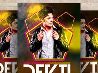 Free Karaoke Night PSD Flyer Template