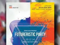 Free Future Psd Flyer Templates