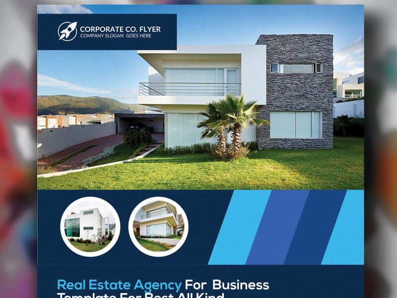 free real estate business psd flyer templates by aliiqbal dribbble