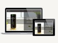 Kiss Mix Website design