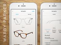 Warber Parker Mobile App