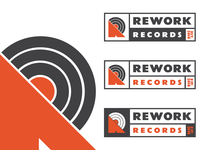 Rework Records Logo Concept