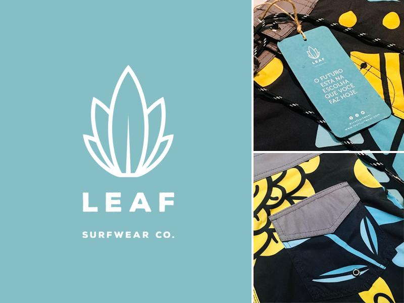 Leaf Logo vector lifestyle brand fashion brazil sport branding surf branding company logo 2d