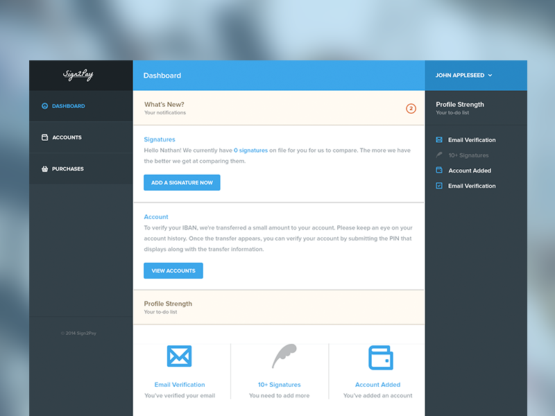 Sign2Pay Admin UI admin ui ux control panel payments backend login log in