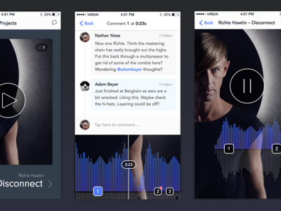 Music Collaboration for iPhone