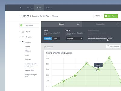Chart Builder dashboard visualization data charts builder chart