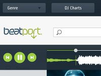 Beatport UI Rethink