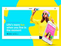 Snapchat Rebranding Concept