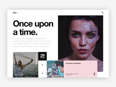 Mondrianizm - Blog clean simple motivation design ui blog mondrianizm