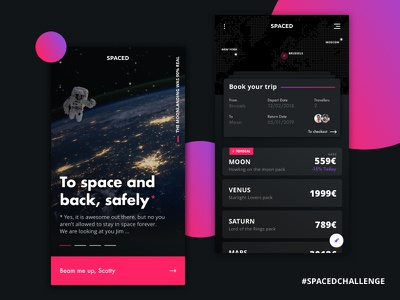 Spacedchallenge dribbble