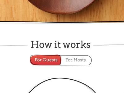 Tadaku - How it works button switch tadaku online food service rough line messy