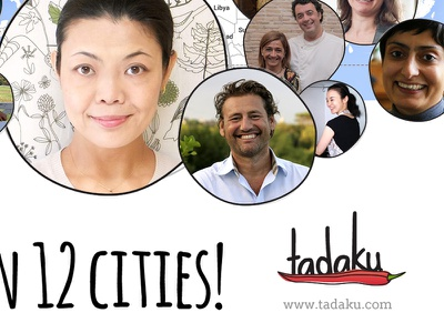 Tadaku - 12cities [Attachment] tadaku host city country world globe global cooking food lesson eat travel