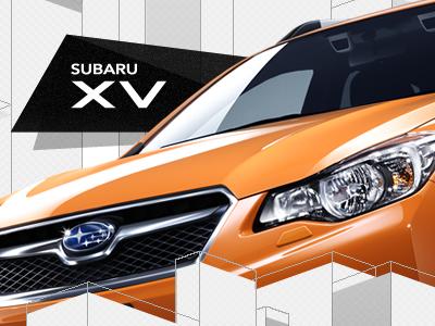 Subaru XV Japan promo site - 1