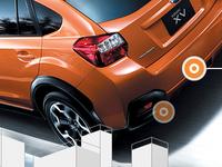 Subaru XV Japan promo site - 2