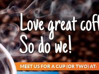 Love great coffee?