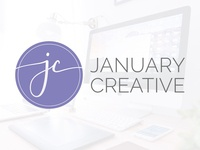 January Creative LLC - New Logo + Brand Identity
