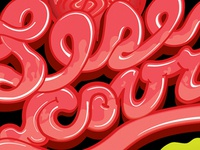 Intestine Typography