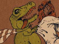 Dino Jesus ArtCrank