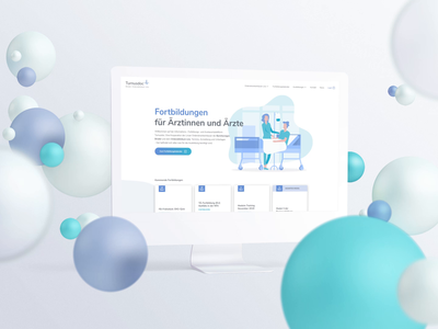 Bubble Scene Web UI/UX Animation