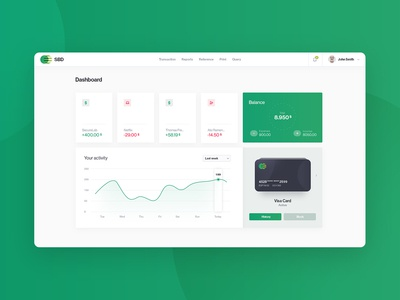 Bank Dashboard