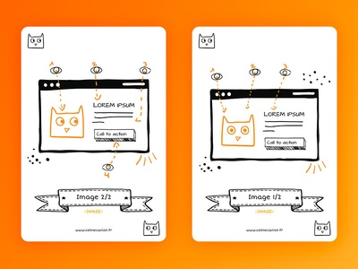 Ux Cards Image freebies image cat layout doodle card ux