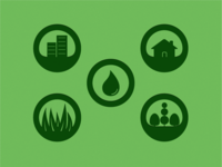 Lawn Maintenance Icons