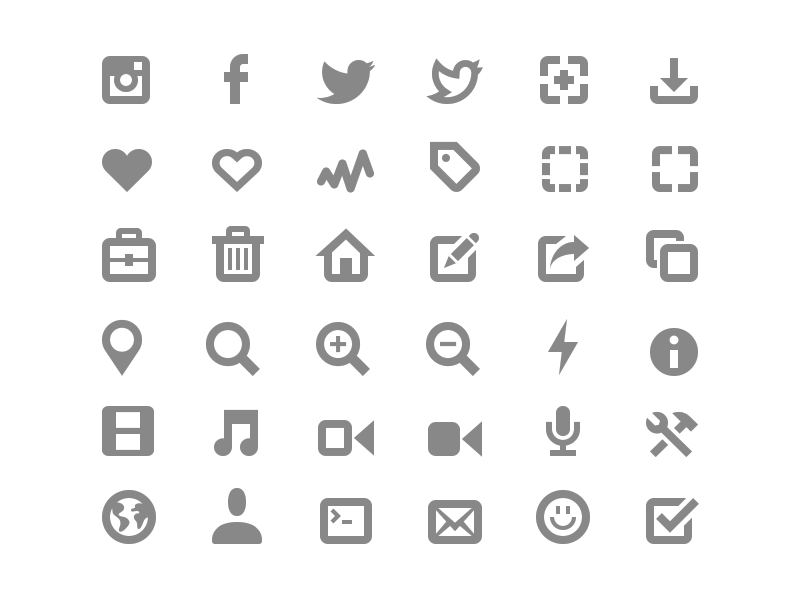Simplisticons FREE icons free pack download vector