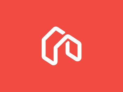 Home Logo house barcelona homes houses live home red cork