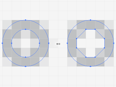 Pro Tip 2 for sharper circles do as above better pro tip sharp sharpen icon tutorial