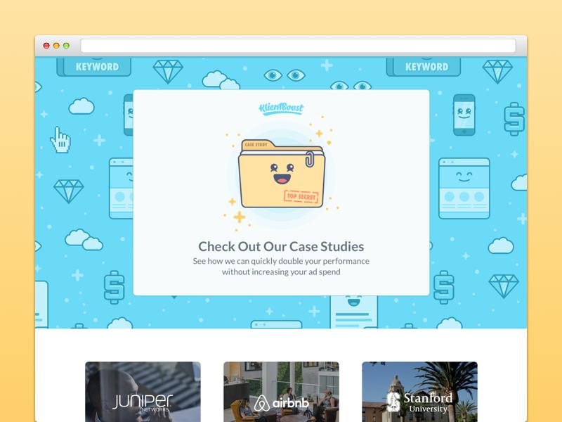 Case Studies Landing Page