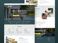 Build Your Dream Backyard Landing Page