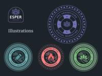 Esper Inbound Illustrations