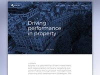 Property developer website
