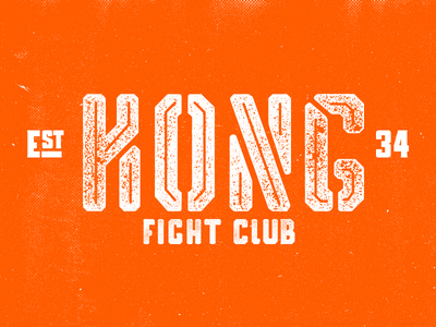 Experiments with type - Kong