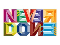 Never Done logo