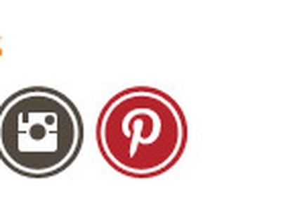 social icons social icons twitter facebook instagram pinterest follow us round circle