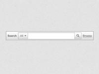 Search Box search box field grey gray interface dropdown