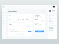 Create event   dashboard v1
