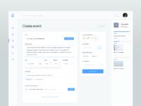 Create event   dashboard v2