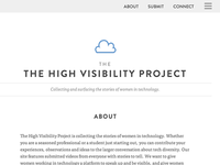 The High Visibility Project v2