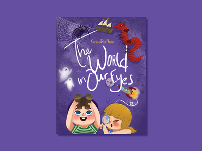 Pop Up Book: The World in Our Eyes cover design illustration