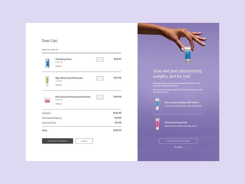 Murad – Cart skincare cart ecommerce murad website