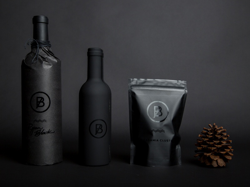 BASIC Holiday Gift '15 brand wine holidays packaging basic agency