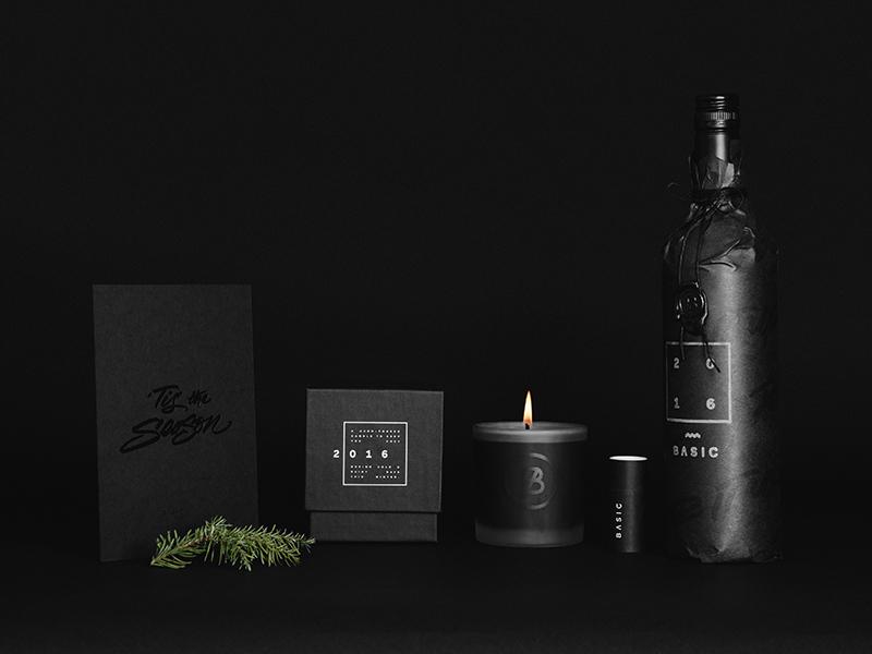 BASIC Holiday Gift '16 holidays basic agency holiday gift packaging