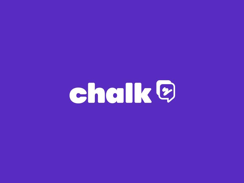 Chalk Logo app ar friendly brand logo
