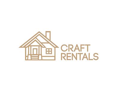 Craft Rentals simple geometric house rental craft